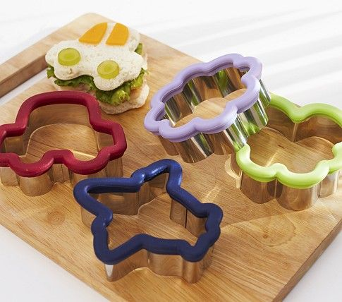 Stainless Sandwich Cutters Pottery Barn Kids Kid Lunch