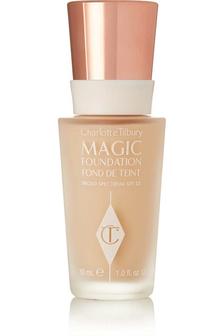 Charlotte Tilbury Magic Foundation - perfect when I need slightly heavier coverage #thechangingfaceofbeauty