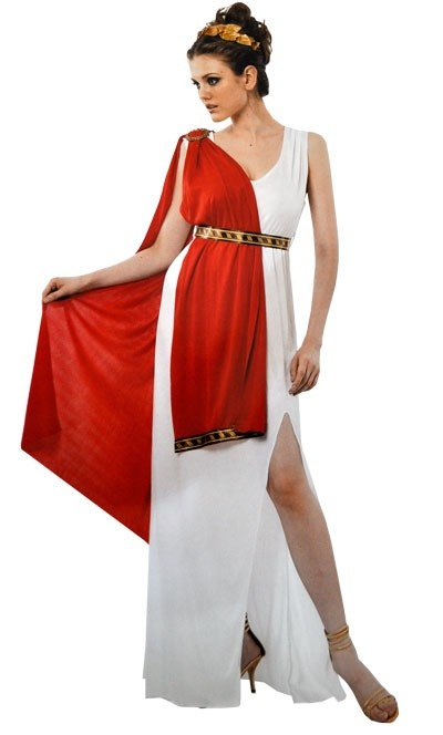 Ancient Roman Goddess Women's Costume