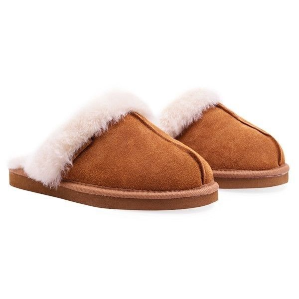 Redfoot Ann Tan Ladies Sheepskin Slippers Luxury Australian sheepskin lined slipper mules. Seductively snug for glamorous lounging. Slip these luxury lovelies onto your feet on chilly evenings and lazy weekends.  £39.99 Order > http://www.kindredsole.com/designers/redfoot-shoes/ladies-sheepskin-slippers-zippy-tan.html