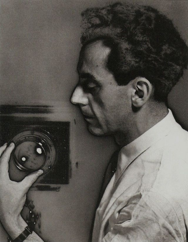 """Man Ray (born Emmanuel Radnitsky; American, 1890–1976), """"Untitled (Self-Portrait with Camera),"""" 1930 (printed 1935/36). Vintage solarized gelatin-silver print. Purchase: Photography Acquisitions Committee Fund, Horace W. Goldsmith Fund, and Judith and Jack Stern Gift 2004-16. © 2004 Artists Rights Society (ARS), New York"""