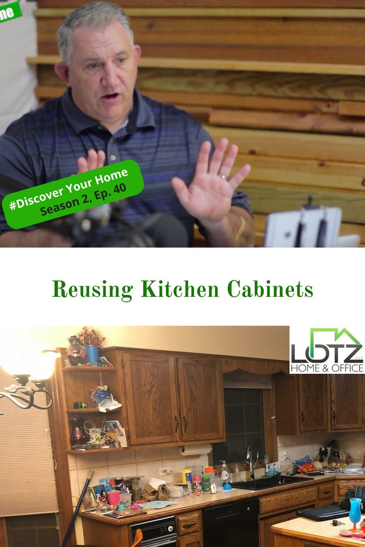Video Reuse Your Old Kitchen Cabinets When Remodeling And Move Them To Other Areas Of Your Home Mark Go Old Kitchen Old Kitchen Cabinets Kitchen Cabinets