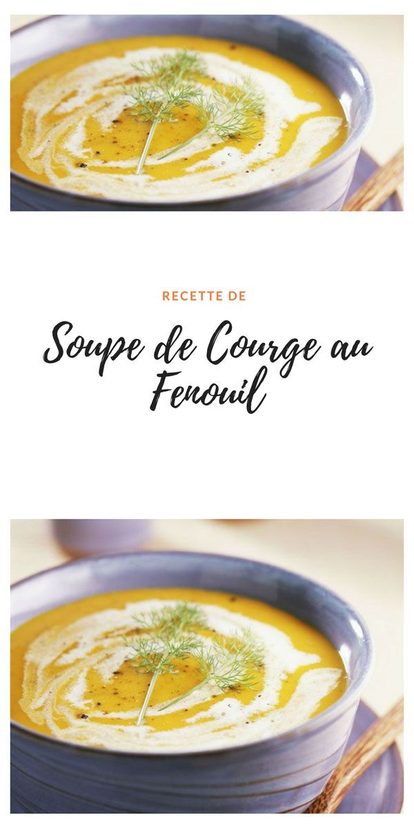 #soupe #courge #fenouil