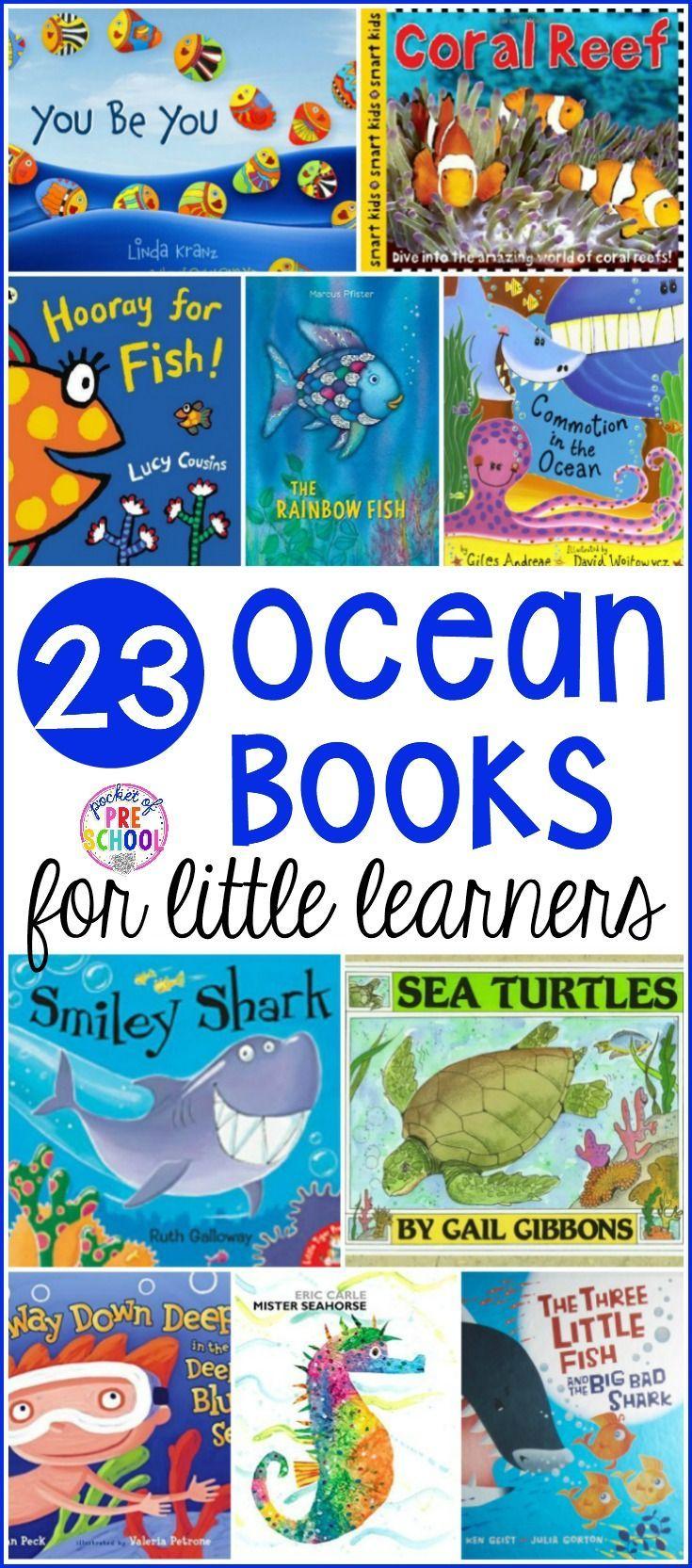 Ocean Books For Little Learners Ocean Theme Preschool Ocean