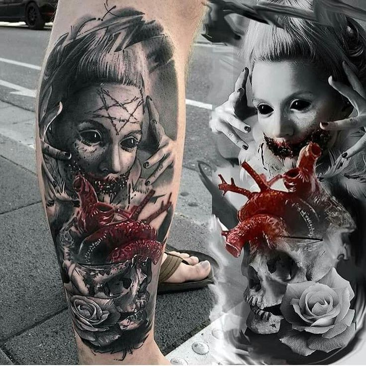 346 Best Horror Gore Guts Images On Pinterest: 91 Best Horror Tattoo Images On Pinterest