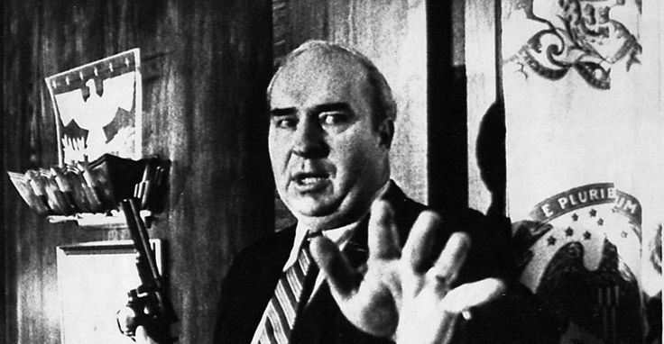 With the media gathered to hear what they believed to be his resignation after a conviction of bribery and fraud, Pennsylvania State Treasurer R. Budd Dwyer, put a gun in his mouth and pulled the trigger on live television.