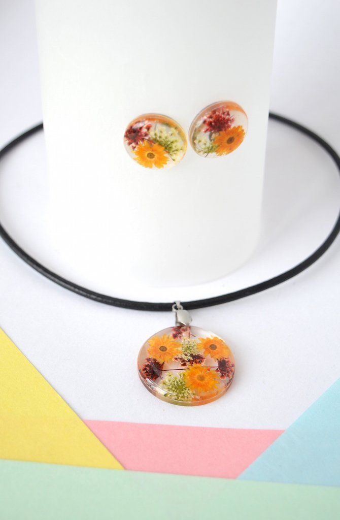 Necklace Set Waving at the sun-Floresse