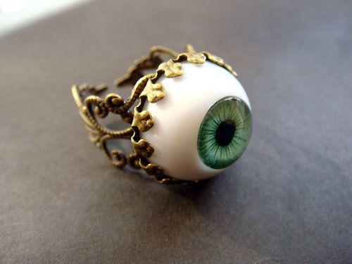 eyeball ring.