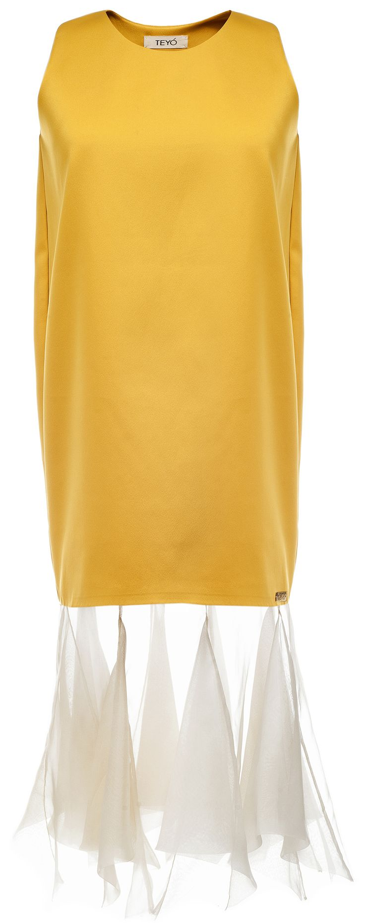MORE is LOVE | Teyo - Yellow Solidaster Dress - Dresses