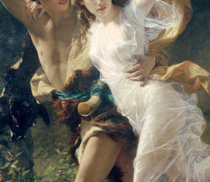 Pierre Auguste Cot;The Storm(detail)