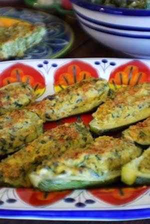 Zucchini Pieni (Stuffed Summer Squash) Italian Recipe
