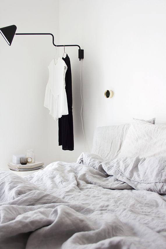 Cozy crinkled linen