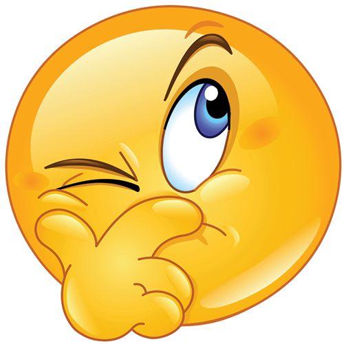 Suspicious Smiley Emoticon - Facebook Symbols and Chat Emoticons