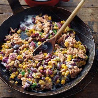 Mexikanische Thunfischpfanne