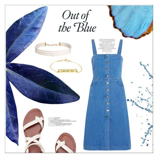 Summer/blue by nka12 on Polyvore featuring polyvore, мода, style, STELLA McCARTNEY, Tory Burch, Humble Chic, Magdalena, fashion and clothing
