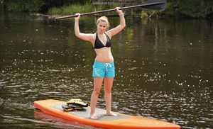Groupon - One-Hour Standup Paddleboard Lesson and Tour or All-Day Kayak Rental from All Wet Sports (Up to 55% Off) in South Side. Groupon deal price: $20