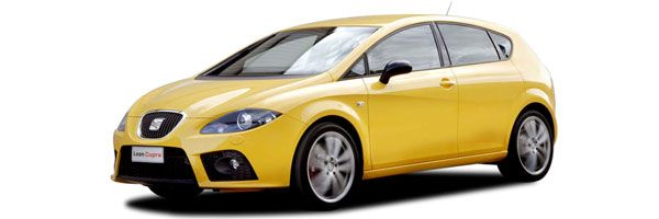 Group C - Seat Leon: 1400cc, manual, 5 seats, 5 doors, A/C, radio, CD player. Economy car rental in Paros