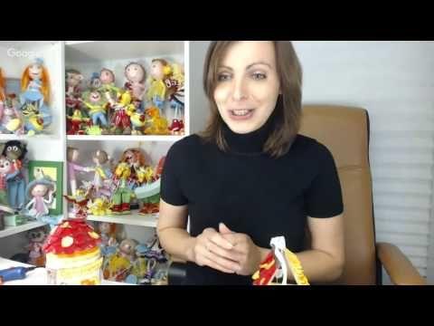 Куклы и игрушки: творим вместе. День 7. Евгения Романова - YouTube