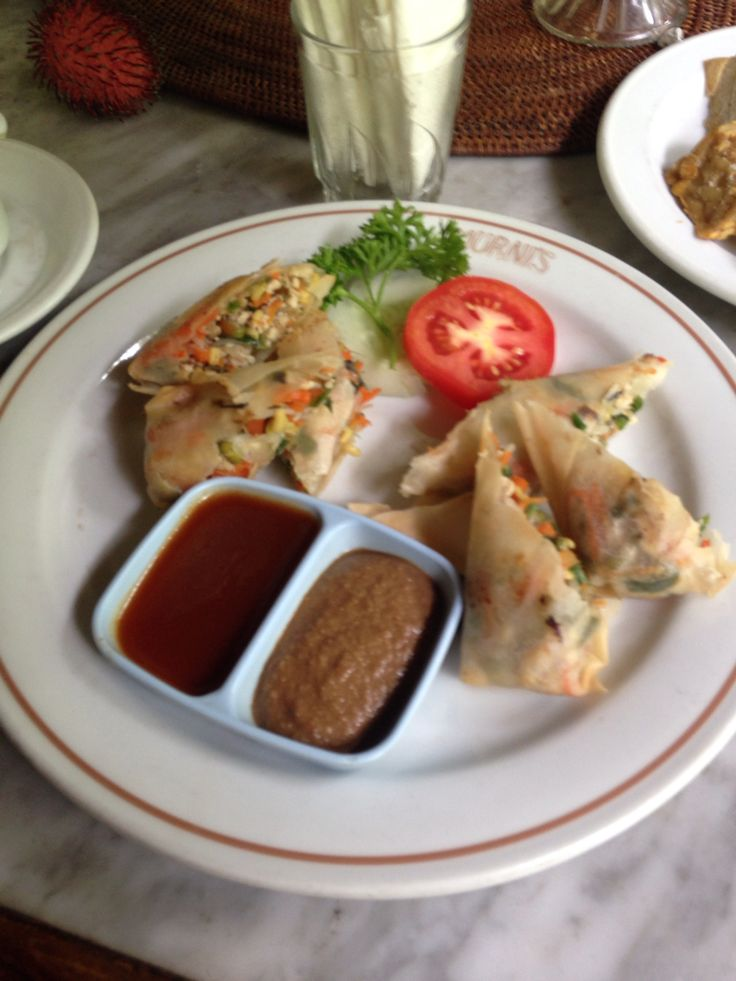 Fried Lumpia at Murni Ubud