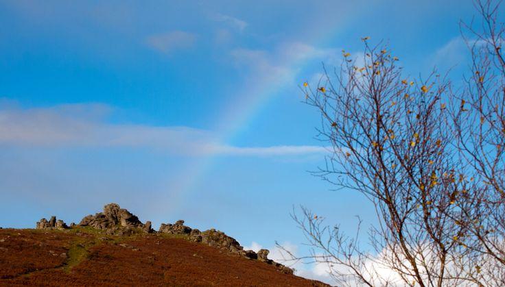Hound Tor  with Rainbow