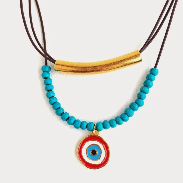 Erin Siegel - layered necklace with O and N jewelry supplies
