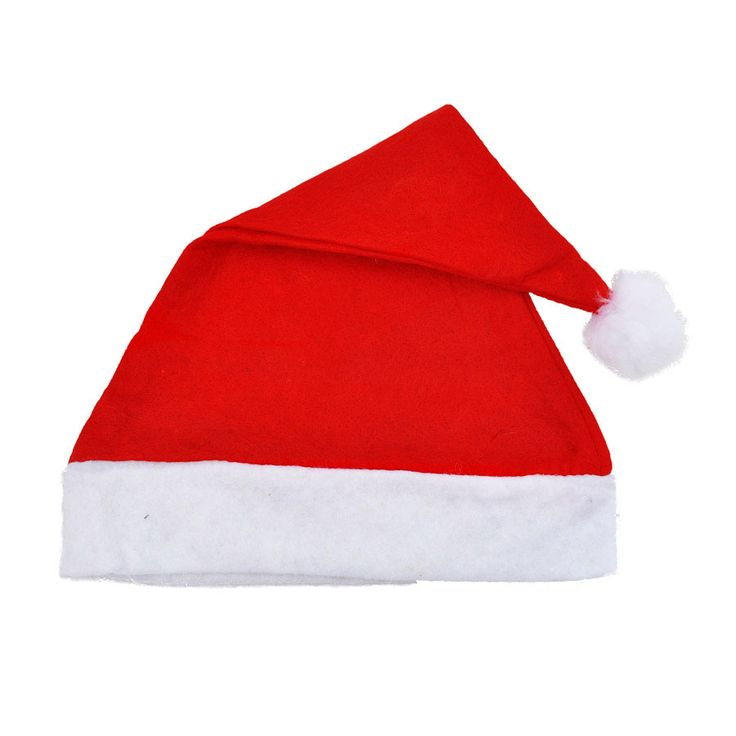 Non-woven Christmas hats adult children