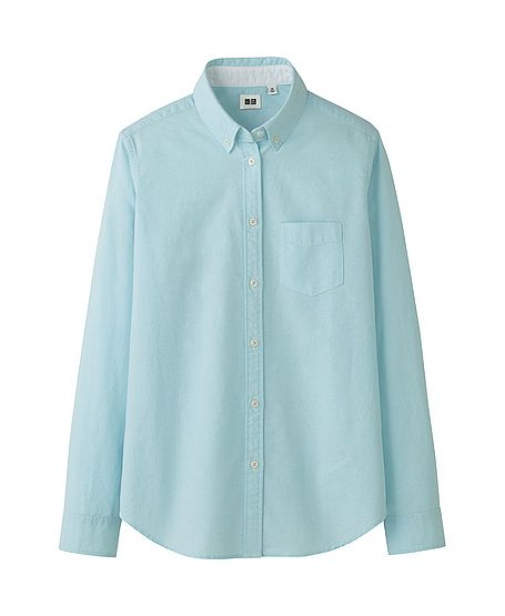 Uniqlo Women Oxford Long Sleeve Shirt