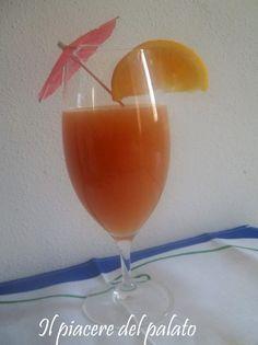 cocktail di frutta analcolico   (ricetta di Il piacere del palato)