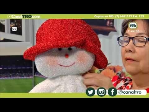 Muñeco de nieve yoyo - Hecho con Estilo - YouTube