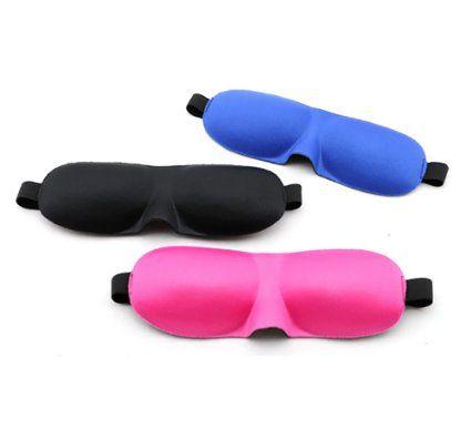 【TwoNine】3D立体型アイマスク(ブルー)+耳栓付き!2点セット 安眠グッズ トラベル用品 耳栓 アイマスク 睡眠 機内 快適 安眠 遮光 おしゃれ 旅行用品 トラベルグッズ 海外 旅行 便利グッズ