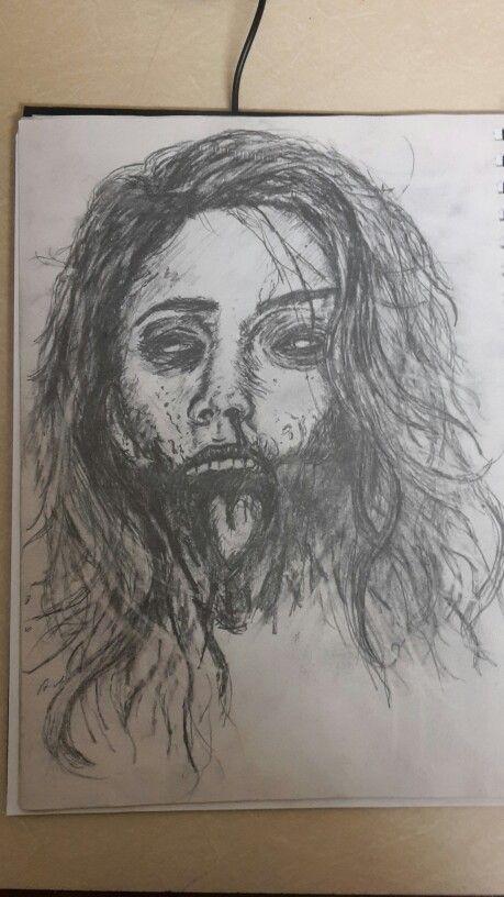 Zombie sketch #WW #Sketch
