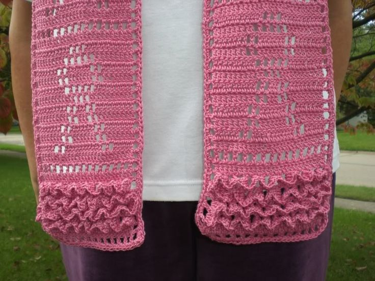 Free Crochet Pattern For Cancer Scarf : 79 best images about Crochet Awareness on Pinterest Html ...