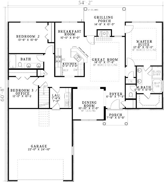 367 best House Plans with side and back view images on Pinterest