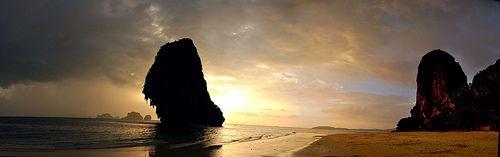 Krabi - Phranang Beach - Railay. Awesome, right!
