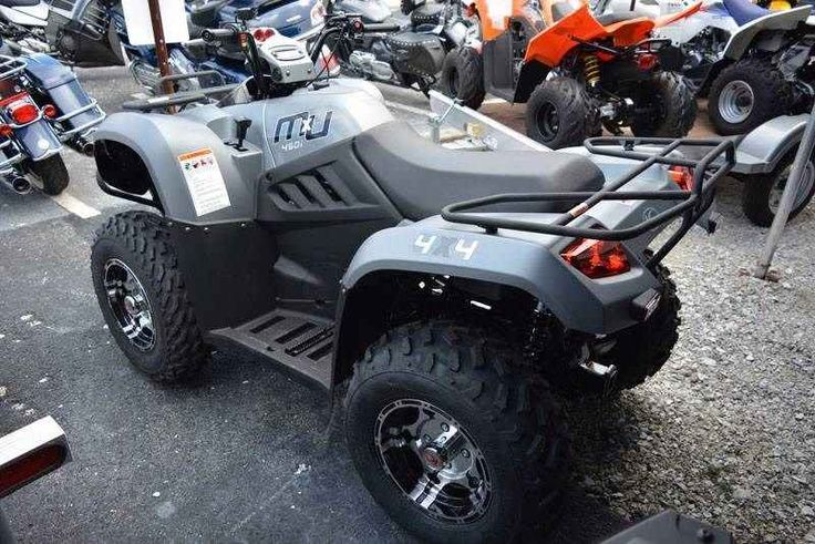 New 2017 Kymco MXU 450i LE ATVs For Sale in Florida. With serious Grand National Cross Country racing credentials, the MXU 450i LE still has enough dexterity to provide access to even the most remote locations. Pushed forward by a 443cc, liquid-cooled and fuel-injected engine developing 33 horsepower, it uses independent dual A-arm suspension matedto 5-position oil-damped shocks to achieve 10.5 inches of ground clearance. KYMCO's CVT automatic transmission and on-demand 2WD/4WD help tame…