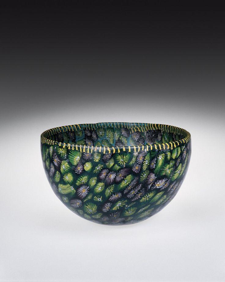"cmog: "" Mosaic Glass Bowl, Eastern Mediterranean probably, 125-1. 5.1.2 (via Mosaic Glass Bowl | Corning Museum of Glass) """