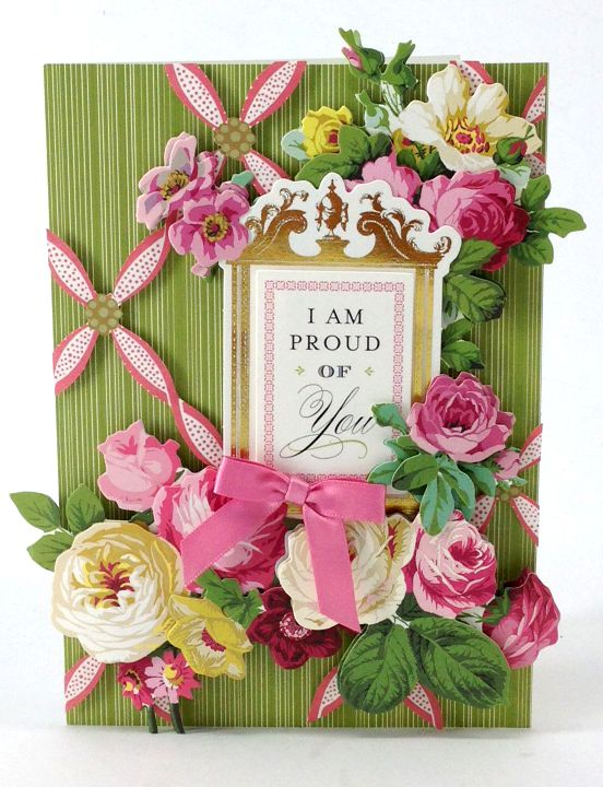 The Anna Griffin Cottage Roses 3D Sticker Kit  is a garden of stickers that will fill your crafts with lush florals. Intricate images of delicate overlapping petals burst off the page. Boasting stunning whites, pretty pinks and rich greens, these stickers bring a touch of femininity and elegance to any card or scrapbook page.