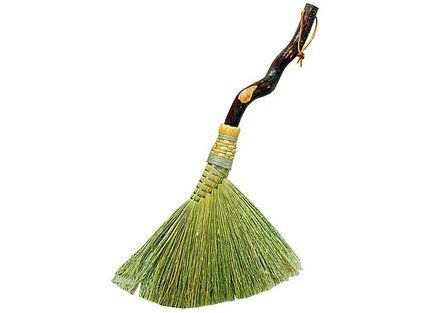 I have such a thing for handmade brooms.