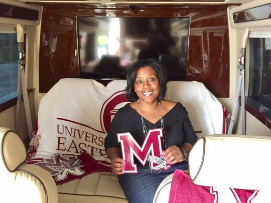 UMES rolled out a marketing mobile to accelerate enrollment of transfer and graduate students.    The Mercedes-Benz Sprinter 2500 Executive Series High Roof model mini van seats nine passengers with lap tables, and is equipped with state-of-the-art technology.    The vehicle takes the University of Maryland Eastern Shore to prospective students — at traditional four-year universities where graduates are readying for graduate school; and community colleges, and High schools around the region