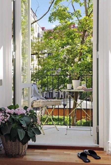 Идеи для балконов и лоджий – 158 фотографий