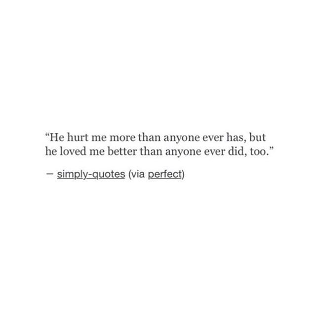 he was the best and the worst all wrapped up in one.