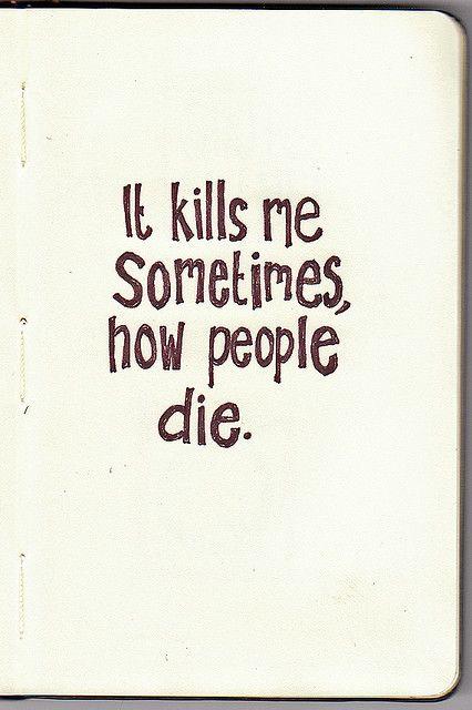 It Kills Me