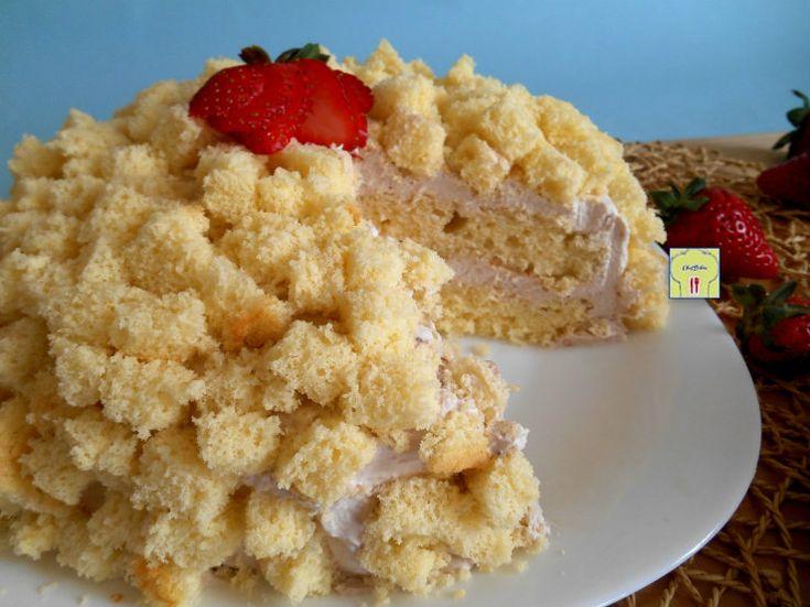 torta mimosa alla fragola 3