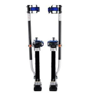 Pentagon Tool, 24 in. to 40 in. Silver Height Black Drywall Stilts, 1120 at The Home Depot - Mobile