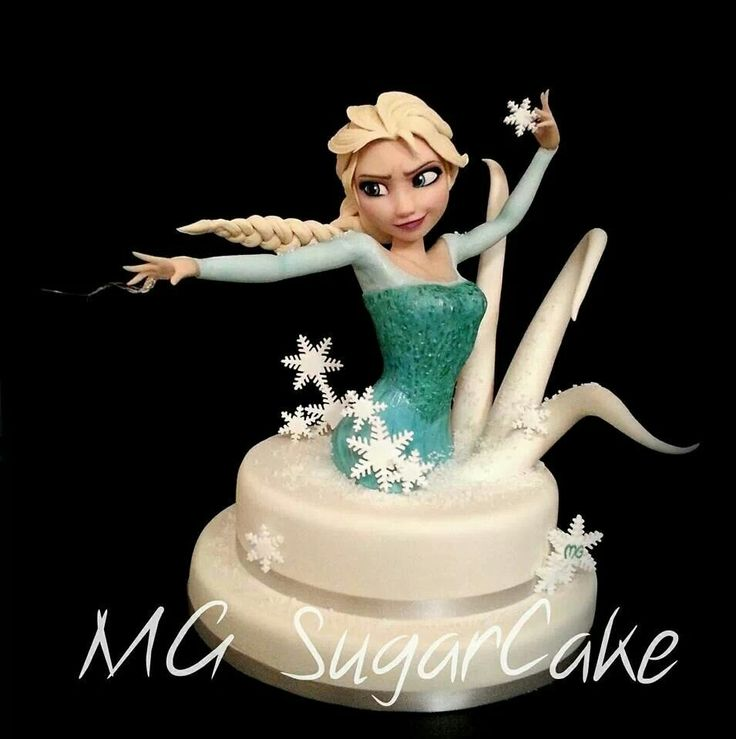 Queen Elsa Cake Decorations : 1000+ images about Cake for Girls on Pinterest Cakes ...