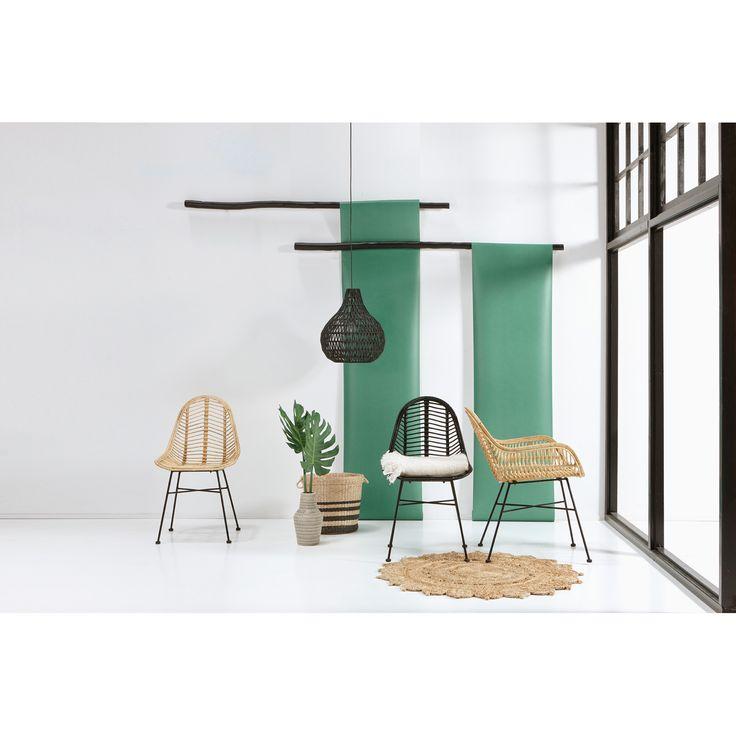Eén van de grote trends dit voorjaar: rotan meubelen! Stoel TREVI is nieuw in ons assortiment en kost 75,-.