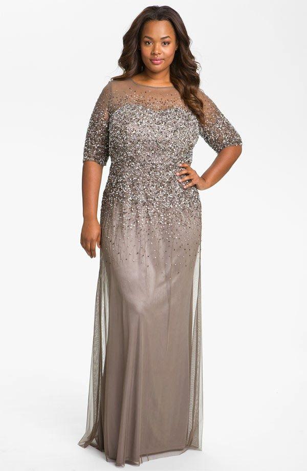 Mulher Virtuosa: Vestido longo para festa plus size