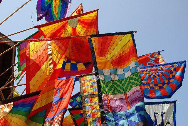 Renaissance Festival - Flags | Flickr - Photo Sharing!