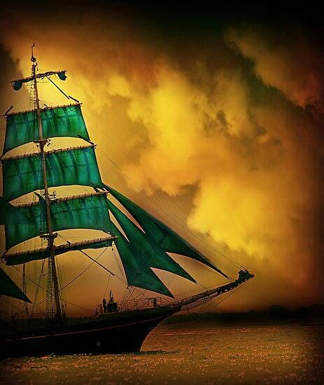 A Sailing Ship Of Yesterday... <3 rw