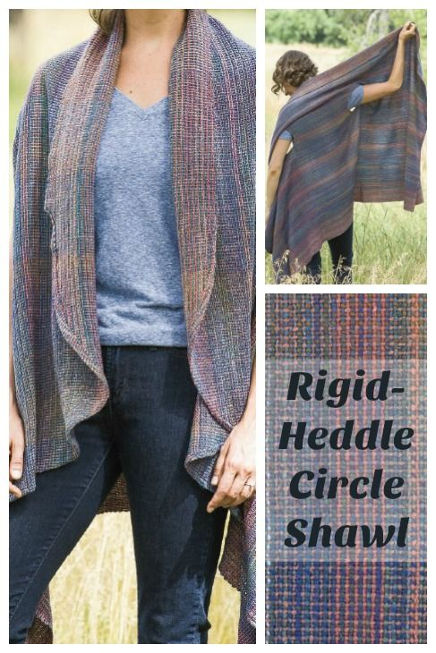 This shawl would be so cute over long sleeves this fall! Weave three long panels on your rigid-heddle loom and get sewing. Get the instructions in the Nov/Dec 2014 issue of Handwoven.